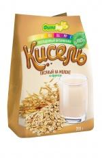 Кисель овсяный на молоке, на фруктозе обогащенный витаминами