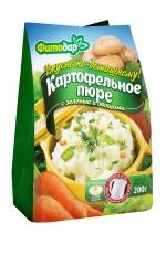 """Картофельное пюре с зеленью и овощами  """"Вкусно по-домашнему"""" быстрого приготовления"""