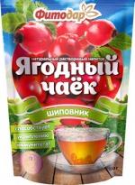 """Натуральный растворимый напиток """"ЯГОДНЫЙ ЧАЕК"""" ШИПОВНИК"""